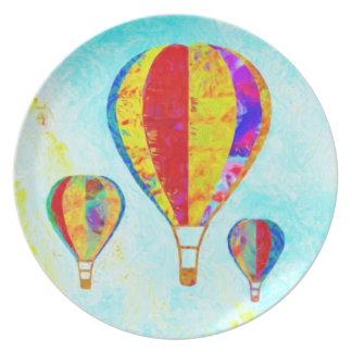 My Beautiful Balloons plate