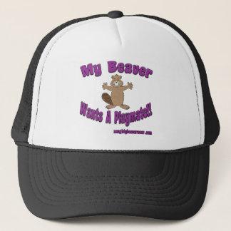 My Beaver Wants A Playmate Trucker Hat