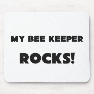 MY Bee Keeper ROCKS! Mouse Mats