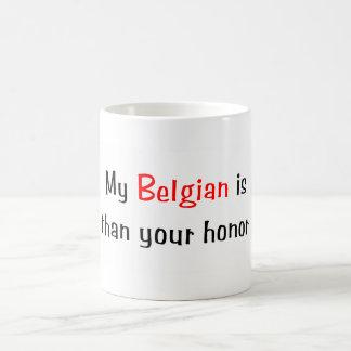My Belgian is smarter... Mug