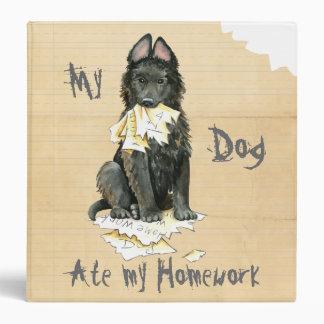 My Belgian Sheepdog Ate My Homework Binder
