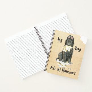 My Belgian Sheepdog Ate My Homework Notebook