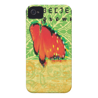 My belief butterfly iphone cover