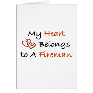 My ♥ Belongs to a FF Greeting Card
