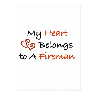 My ♥ Belongs to a FF Postcard