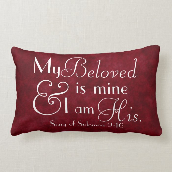 Bible verse my beloved is mine and i am his