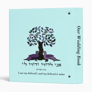 My Beloved is Mine Wedding Book Binder