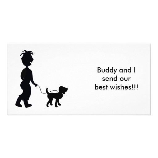 My Best Bud Photo Greeting Card