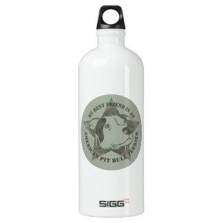 My Best Friend Aluminum Water Bottle