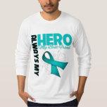 My Best Friend Always My Hero - Ovarian Cancer Tees