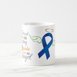 My Best Friend An Angel - Anal Cancer Coffee Mug