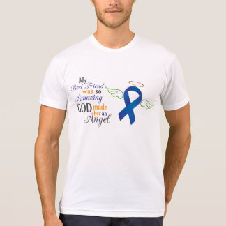My Best Friend An Angel - Anal Cancer T-Shirt