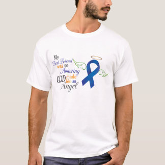 My Best Friend An Angel - Anal Cancer T-Shirt
