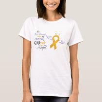 My Best Friend An Angel - Appendix Cancer T-Shirt