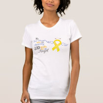 My Best Friend An Angel - Bladder Cancer T-Shirt