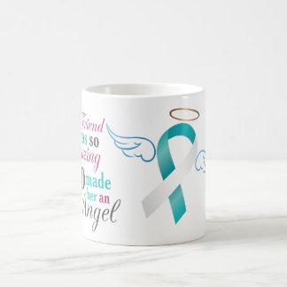 My Best Friend an Angel – Cervical Cancer Coffee Mug