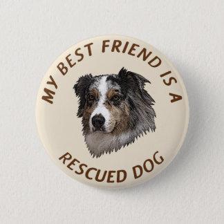 My Best Friend (Australian Shepherd) Button