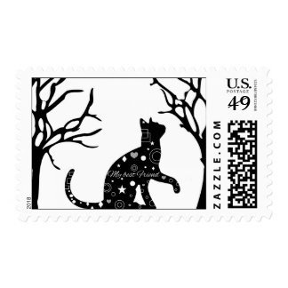 My Best Friend Cat Stamp