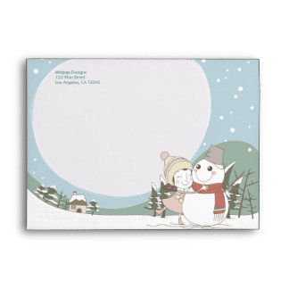 My Best Friend Christmas Holiday Envelope