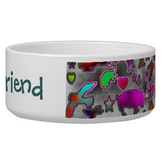 """My Best Friend"" Dog Dish"