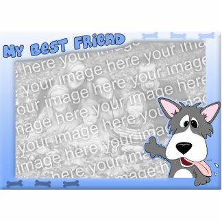 My Best Friend Dog Photo Frame Statuette