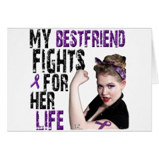 My Best Friend Fights For Her Life Card