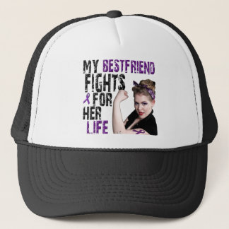 My Best Friend Fights For Her Life Trucker Hat