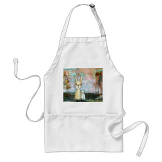 My Best Friend From Original Art Painting Adult Apron
