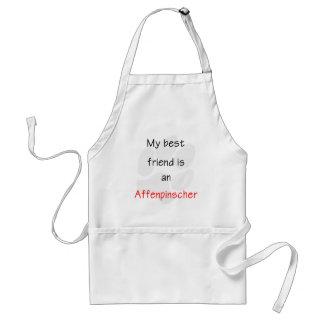 My Best Friend is a Affenpinscher Adult Apron