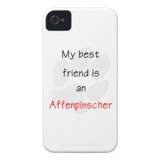 My Best Friend is a Affenpinscher iPhone 4 Cases