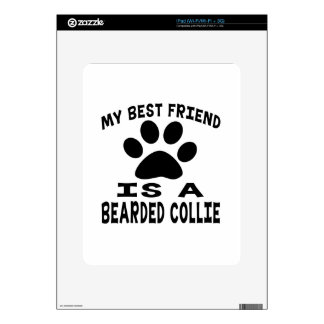 My Best Friend Is A Bearded Collie Decal For iPad