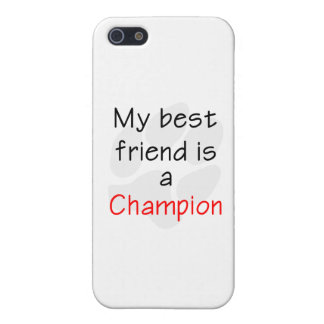 My Best Friend is a Champion iPhone SE/5/5s Cover