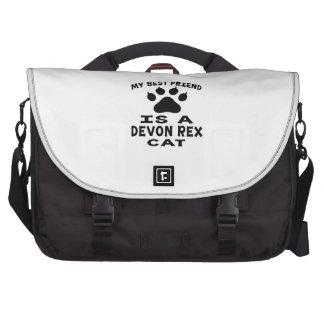 My Best Friend Is A Devon Rex Cat Commuter Bag