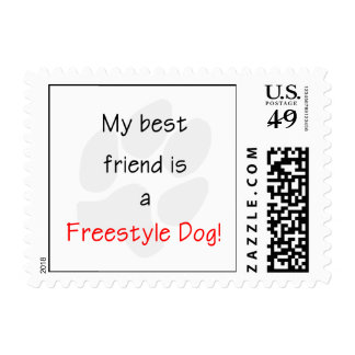 My Best Friend is a Freestyle Dog Postage