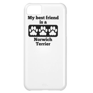 My Best Friend Is A Norwich Terrier Case For iPhone 5C