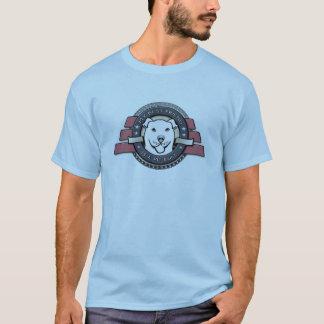 My Best Friend is a Pit Bull Emblem - Blue Tshirt