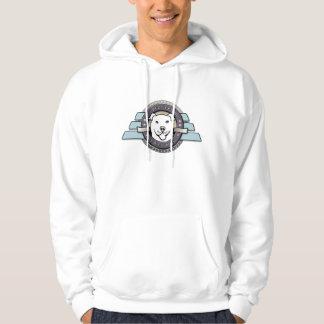 My Best Friend is a Pit Bull Emblem - White Hoodie