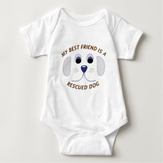 My Best Friend is a Rescued Dog T Shirt