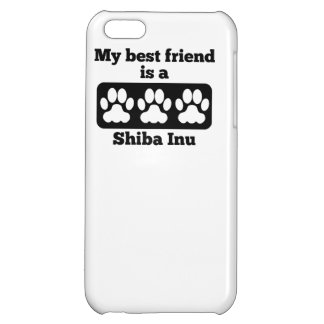 My Best Friend Is A Shiba Inu Case For iPhone 5C