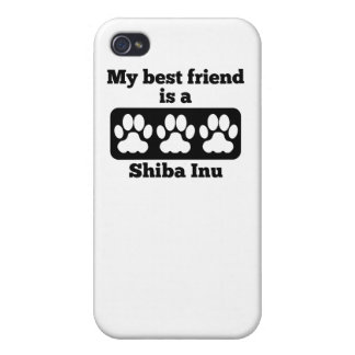 My Best Friend Is A Shiba Inu Covers For iPhone 4