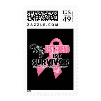 My Best Friend is a Survivor - Breast Cancer Stamp