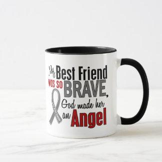 My Best Friend Is An Angel 1 Brain Cancer Mug
