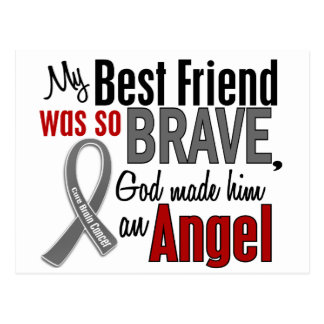 My Best Friend Is An Angel 1 Brain Cancer Post Cards