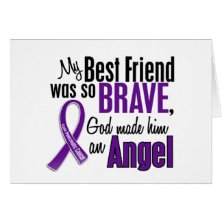 My Best Friend Is An Angel Pancreatic Cancer Cards
