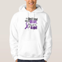 My Best Friend Is An Angel Pancreatic Cancer Hoodie
