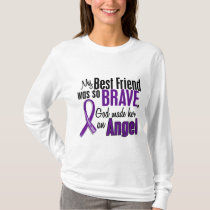 My Best Friend Is An Angel Pancreatic Cancer T-Shirt