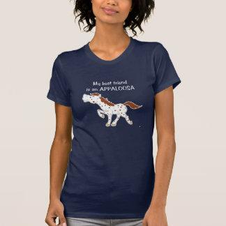 My Best Friend is an Appaloosa Red Roan T-Shirt