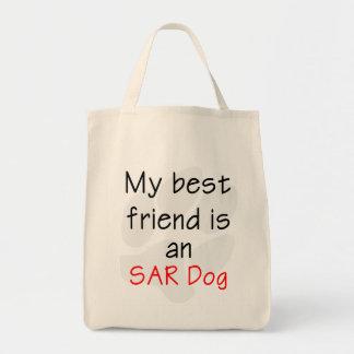 My Best Friend is an SAR Dog Canvas Bag