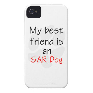 My Best Friend is an SAR Dog iPhone 4 Cases
