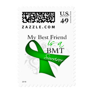 My Best Friend is Bone Marrow Transplant Survivor Stamps